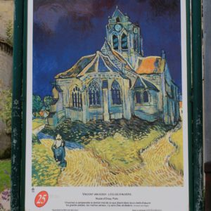 Vincent's depicted the Church in Auvers-sur-Oise