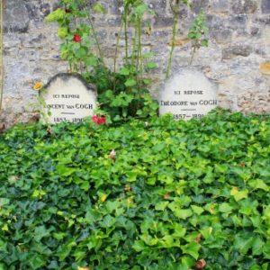 les tombes de Vincent et Theo